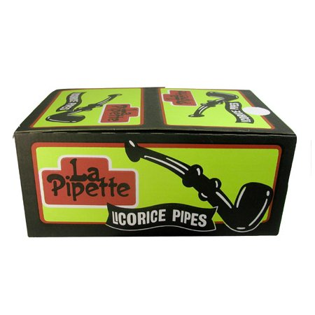 Black Licorice Pipes by Leaf (Box of 60 pipes)  sc 1 st  Licorice International & Black Pipes by Leaf (Box of 60 pipes)